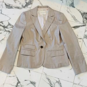 Ladie's Stretch Linen Banana Republic Blazer 14